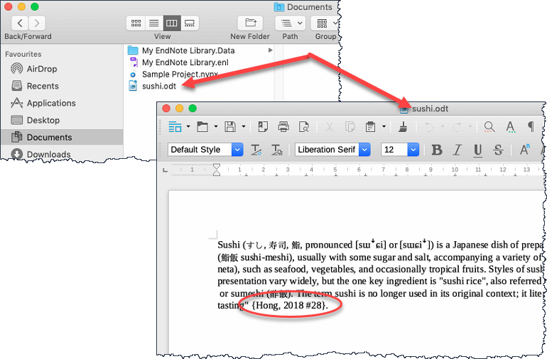 LibreOffice and EndNote – Alfasoft Support & Knowledgebase